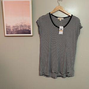 NWT Michael Kors Striped T shirt.
